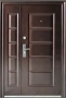 Дверь S29DL - Дверь S-29 DL . Металлическая входная дверь пр-во Китай. Покрытие крупнозернистый молоток. Размер 1200 х 2050 х 70. Открывание левое/правое. Петли внутренние. 2 замка.