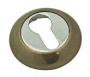 Накладка на евро цилиндр бронза. - Накладка на евро цилиндр. Цвет бронза.