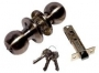 Защелка межкомнатная 607 ab et - Замок Arsenal 607 AB ET с ключом, бронза.