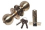 Защелка межкомнатная 607 sb et - Замок Arsenal 607 SB ET с ключом, золото матовое.