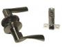 Защелка межкомнатная 860 ab et - Ручка Arsenal 860AB ET с ключом, бронза