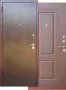Дверь Аргус 1 - Дверь ДА-1. Покрытие медь Антик. Размеры 870/970*2050*50мм. Утеплитель-УРСА.