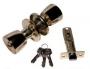 Защелка межкомнатная 3091 pb et - Замок Arsenal 3091 PB ET с ключом, золото блестящее.