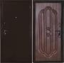 Входная дверь Грань (Антарес) Люкс бронза тиковое дерево - Модель: Люкс