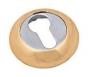 Накладка на евро цилиндр золото.