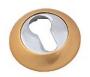 Накладка на евро цилиндр матовое золото