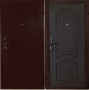 """Входная дверь Грань (Антарес) """"Антик медь венге фреза."""""""