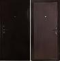 """Входная дверь Грань (Антарес) """"Антик бронза венге гладкая""""."""
