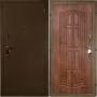 """Входная дверь Грань (Антарес) люкс """"Золото"""" дуб антик"""