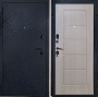 """Входная дверь Грань (Антарес) """"Трехконтурная, антик черный"""""""