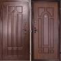 """Входная дверь Грань (Антарес) """"Давка декор темный орех"""""""