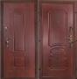 """Входная дверь Грань (Антарес) """"Махагон панель-панель."""""""